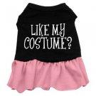 2XL & 3XL Pink Bottom LIKE MY COSTUME? Halloween Dog Dress