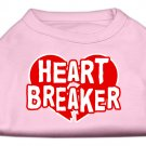 """Heart Breaker"" Dog Shirt"