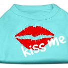 """Kiss Me"" Dog Shirt"