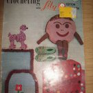 CROCHETING WITH LILY COTTON RUG YARN PATTERN BOOKLET NO. 202