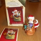 2005 HALLMARK CLUB EXCLUSIVE SANTA'S MAGIC SACK ORNAMENT MIB