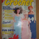 WOMEN'S CIRCLE CROCHET MAGAZINE WINTER 1992 FASHION DOLL BARBIE PATTERNS