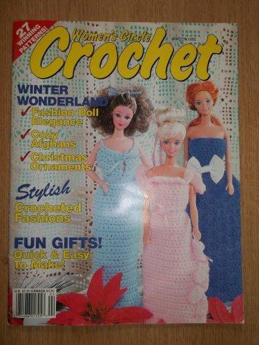 WOMEN'S CIRCLE CROCHET MAGAZINE WINTER 1992 FASHION DOLL BARBIE PATTERNS