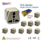 10 Pieces of Wonpro Traveler Adapter for Taiwan Japan USA China - 100% New!