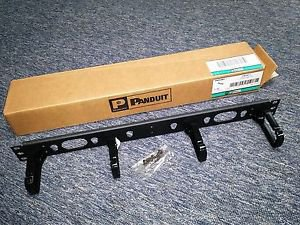 PANDUIT 19 Inches Panel D-Rings Front 1 Rack Unit CMPHF1 (Made in USA)-100% New