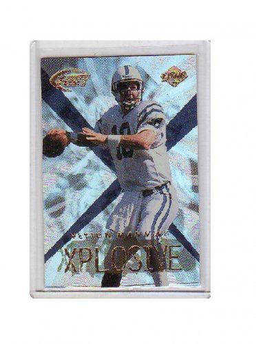 Peyton Manning 1999 Collector's Edge Fury Xplosive #10 Colts, Broncos