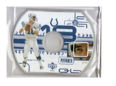 Peyton Manning 1999 UD Powerdeck #PD1 Colts, Broncos
