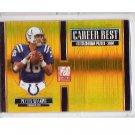Peyton Manning 2005 Elite Career Best Gold #CB-36 Colts, Broncos Serial #348/500