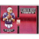 Peyton Manning 2005 Elite Career Best #CB-36 Colts, Broncos Serial #0698/1000