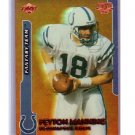 Peyton Manning 1999 Edge Triumph Fantasy Team #FT4 Colts, Broncos