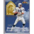 Peyton Manning 2001 Fleer Showcase Air to the Throne #AT-1 Colts, Broncos