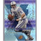 Peyton Manning 2000 SPx SPxtreme #X6 Colts, Broncos