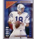 Peyton Manning 1999 Donruss Fan Club Gold #FC18  Colts, Broncos  Serial #0121/5000