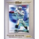 Peyton Manning 2001 Fleer Showcase #105 AC Colts, Broncos