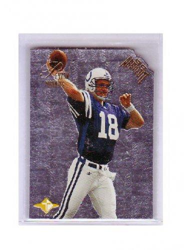 Peyton Manning 1998 Absolute Tandems RC #3B w/Brett Favre  Colts, Broncos