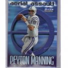 Peyton Manning 1999 Fleer Tradition Aerial Assault #10 of 15 AA  Colts, Broncos