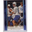 Peyton Manning 1999 SP Authentic SP Supremacy #S12 Colts, Broncos