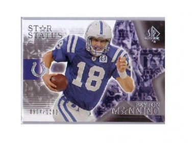 Peyton Manning 2003 SP Authentic Star Status #149 Colts #/1200