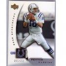 Peyton Manning 2005 UD NFL Sportsfest #NFL4 Colts #/750