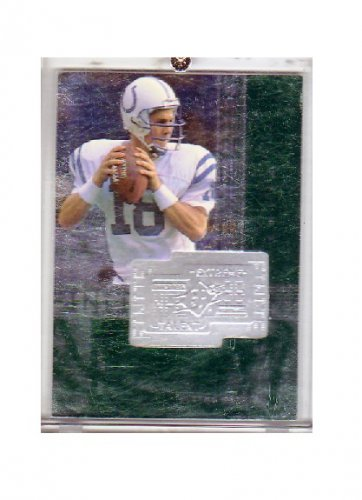Peyton Manning 1998 SPx Finite Extreme Talent #287 RC Rookie Colts, Broncos #/7200