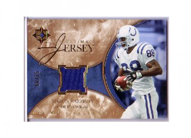 Marvin Harrison 2006 Ultimate Collection Jerseys Silver #ULMH Colts #/75