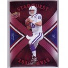 Peyton Manning 2008 Upper Deck Star Quest Rainbow Red #SQ25 #SQ25 Colts, Broncos