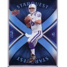 Peyton Manning 2008 Upper Deck Star Quest Rainbow Blue #SQ25 Colts, Broncos