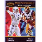 Peyton Manning 2000 Bowman's Best Best Performers #100 Colts, Broncos
