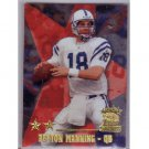 Peyton Manning 1999 Topps Stars Two Star Parallel #23 Colts, Broncos
