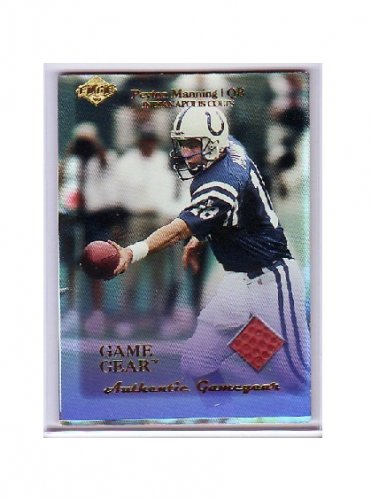 Peyton Manning 1999 Edge Authentic Game Gear #PM Colts, Broncos
