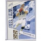 Peyton Manning 2002 Stadium Club Reel Time #RT2 Colts, Broncos
