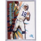 Peyton Manning 2000 Fleer eX e-Xplosive #13 of 20 XP Colts, Broncos