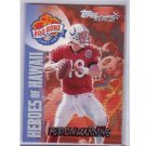 Peyton Manning 2000 Topps Stars Heroes of Hawaii #135 Colts, Broncos
