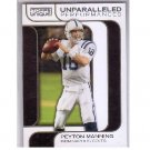 Peyton Manning 2005 Topps Unparalleled Performance #UP-15 Colts, Broncos