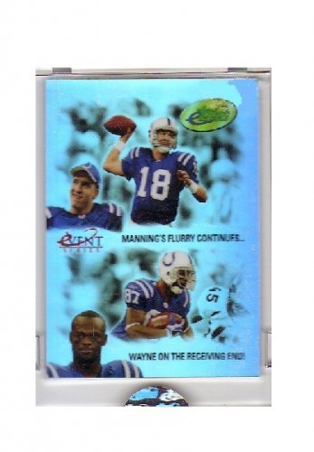 Peyton Manning 2005 E-Topps Event Series #PS-ES3 Colts, Broncos