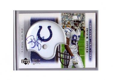 Reggie Wayne 2005 Sweet Spot Signatures #SS-RW Colts