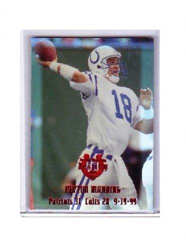 #/25 Peyton Manning 2000 Edge Peyton Manning Destiny #PM18 Colts, Broncos
