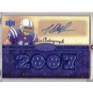 #/99 Anthony Gonzalez 2007 UD Premier Rookie Materials Autograph #133 RC Colts