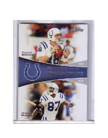 Peyton Manning 2011 Topps Faces of the Franchise #FF-MW Colts, Broncos