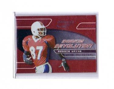 Reggie Wayne 2001 Quantum Leaf Rookie Revolution #RR-16 RC Colts