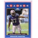 Reggie Wayne 2008 Topps Chrome Blue Refractor #TC127 Colts