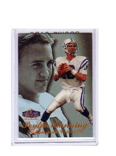 Peyton Manning 1998 Flair Showcase Row 3 #3 RC Rookie Colts, Broncos