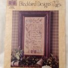 "BLACKBIRD DESIGNS ""Happy Birthday"" cross stitch pattern"