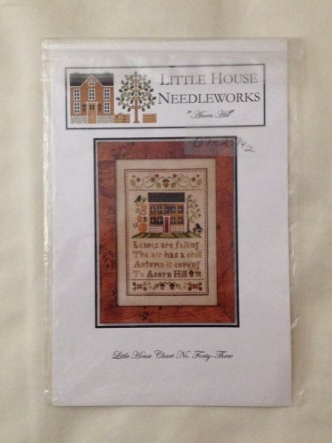 "LITTLE HOUSE NEEDLEWORKS ""Acorn Hill"" cross stitch pattern"