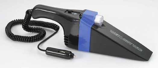 Dirt Magic Wet/Dry Auto Vacuum with light.