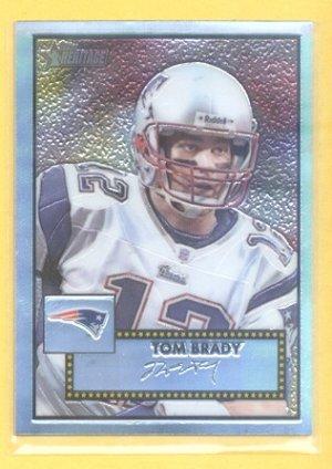 2006 Topps Heritage Chrome Tom Brady /1956 Patriots