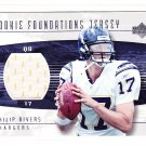 2004 UD Rookie Foundations Jersey Philip Rivers RC /499