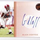 2009 Press Pass Autograph Glen Coffee RC 49ers