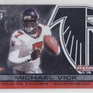 2001 Titanium Post Season Michael Vick RC Eagles /795