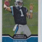 2011 Topps Finest Moments Cam Newton RC Panthers